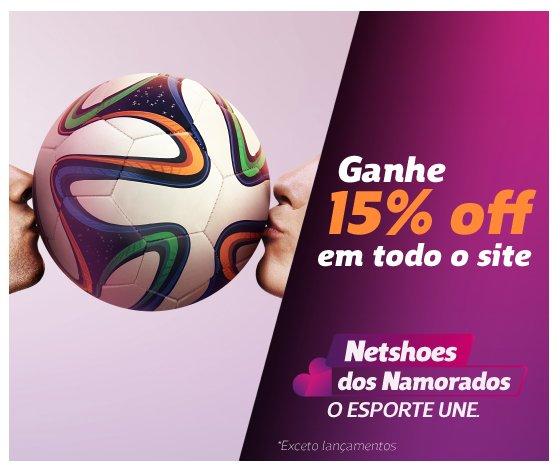 6f26d272eb Netshoes dos Namorados  15% off em todo o site . Tênis Nike ...