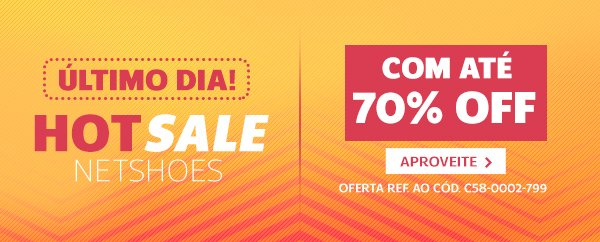 353f3f68a9 Promoção Netshoes  Chance de OURO!