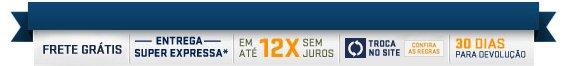 FRETE GRÁTIS* nas compras acima de R$ 49,00. Confira regulamento no site